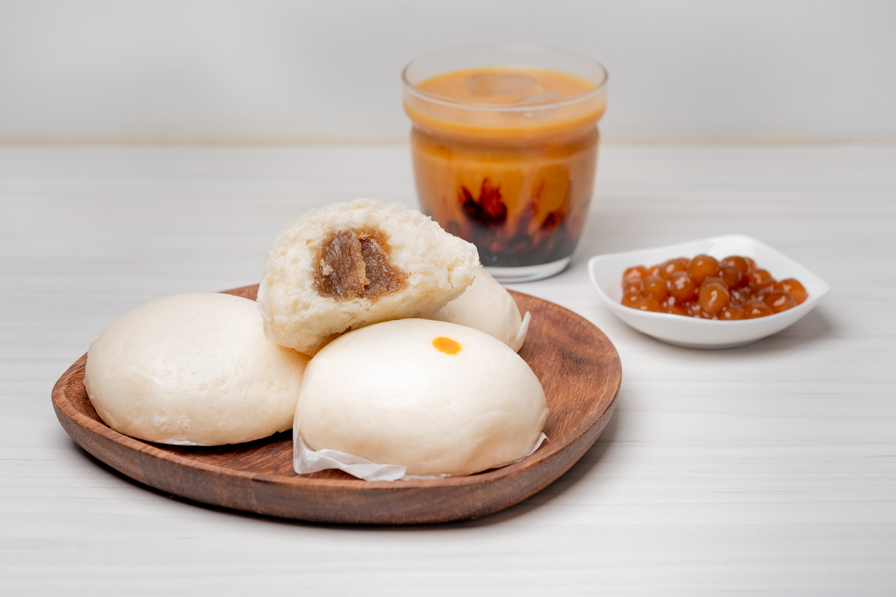 Brown Sugar Lotus Bao