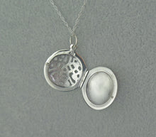 Load image into Gallery viewer, Solid 925 Sterling Silver Celtic Knot Keepsake Locket