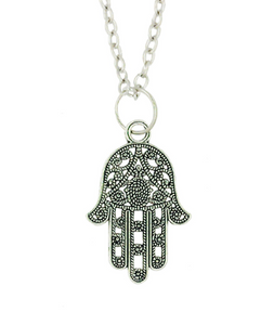 Hamsa Hand of God Pendant Necklace