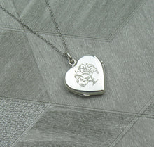 Load image into Gallery viewer, Celtic Tree of Life Solid 925 Sterling Silver Locket Pendant Necklace