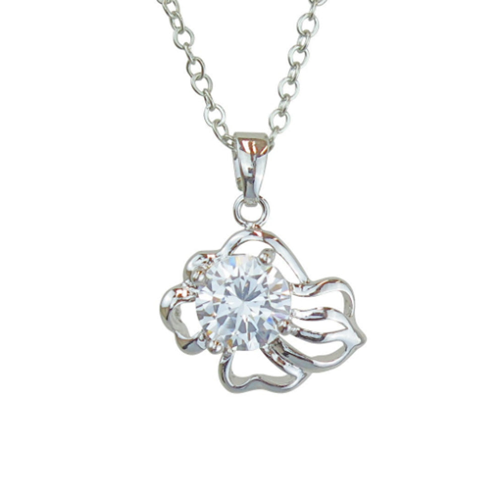 Leo Horoscope Zodiac Crystal Pendant Necklace