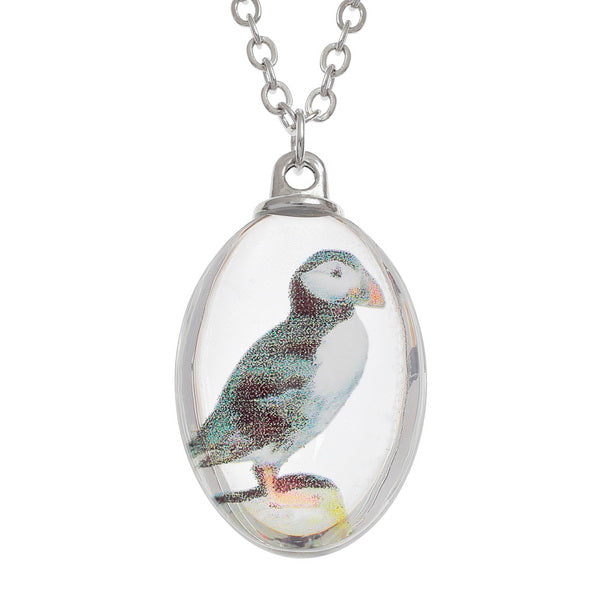 Puffin Pendant Necklace