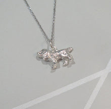 Load image into Gallery viewer, Stunning Sterling 925 Silver Spaniel Pendant Necklace