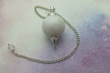 Load image into Gallery viewer, White Jade Pendulum