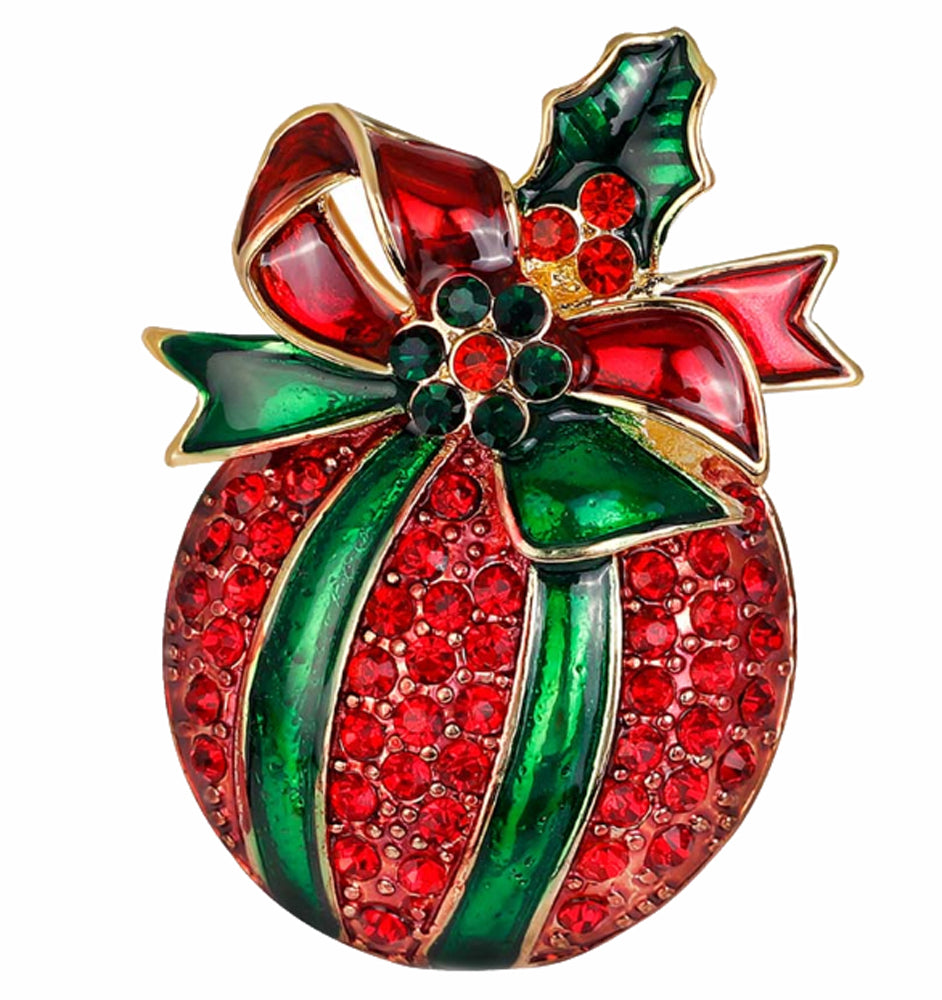 Christmas Baubel Brooch