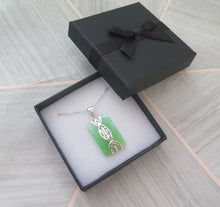 Load image into Gallery viewer, Lucky Genuine Grade A Natural Jade & 925 Sterling Silver Good Health Pendant