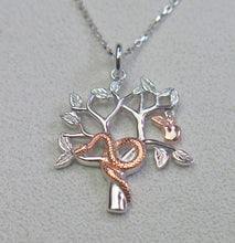 Load image into Gallery viewer, High Quality Solid 925 Sterling Silver Garden of Eden Faith Pendant Necklace