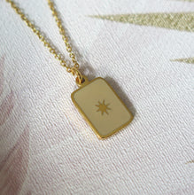 Load image into Gallery viewer, North Star Pendant Necklace