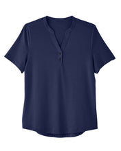 Load image into Gallery viewer, North End Snap-up Performance Polo - Womens