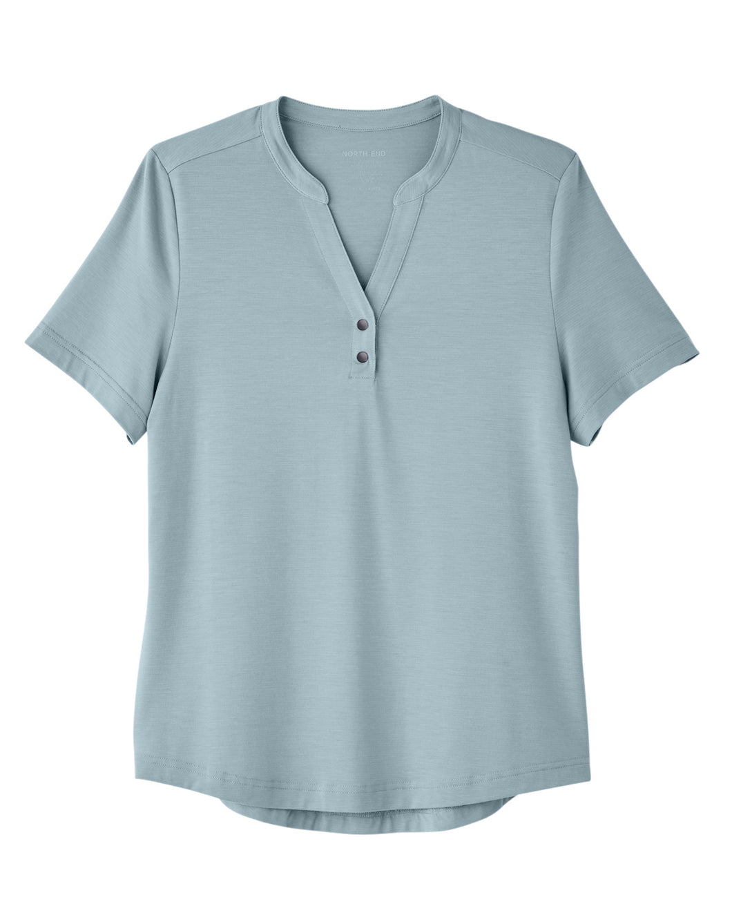 North End Snap-up Performance Polo - Womens