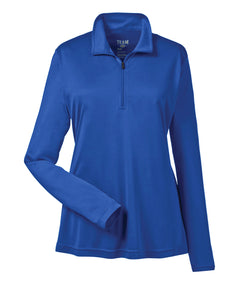 Team 365 Zone Performance Quarter-Zip - Womens