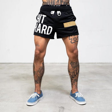 Hit Hard Bodybuilding Shorts
