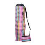 Yoga Mat Carry Bag with Side Pocket, Drawstring, Suitable for all Sizes