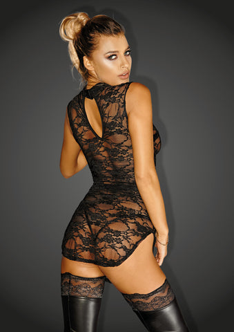 Lace minidress