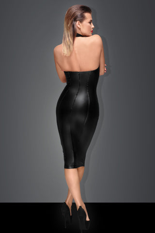 Powerwetlook pencil dress