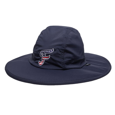 Navy Stars and Stripes Bucket Hat