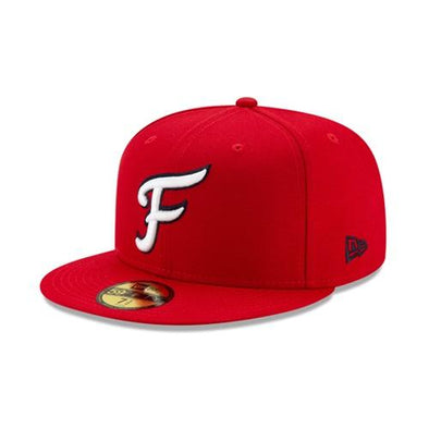 Fredericksburg Nationals Home Fitted On-Field Cap