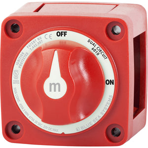 Blue Sea 6010 m-Series (Mini) Battery Switch Dual Circuit