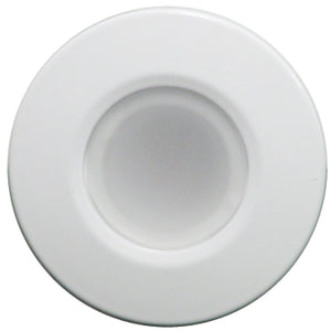 Lumitec Orbit - Flush Mount Down Light - White Finish - White Non-Dimming