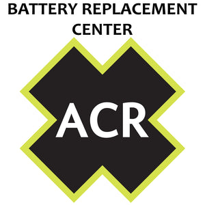 ACR FBRS 2885 Battery Replacement Service - PLB-350 C SARLink