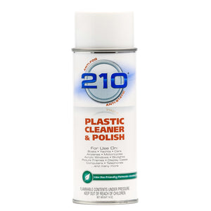 Camco 210 Plastic Cleaner Polish 14oz Spray