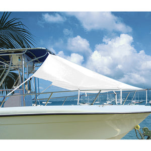 "Taylor Made T-Top Bow Shade 7L x 102""W - White"