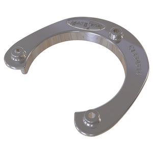 "Mate Series Stainless Steel Rod  Cup Holder Backing Plate f/Round Rod/Cup Only f/3-3/4"" Holes"