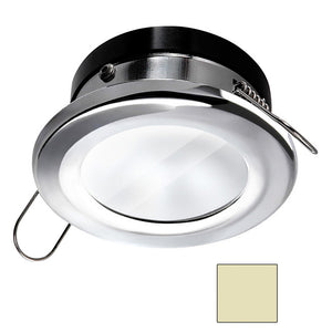 i2Systems Apeiron A1110Z - 4.5W Spring Mount Light - Round - Warm White - Chrome Finish