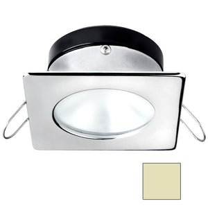 i2Systems Apeiron A1110Z - 4.5W Spring Mount Light - Square/Round - Warm White - Chrome Finish