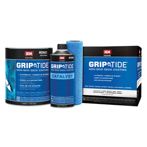 SEM GripTide Non-Skid Deck Coating Kit - Mateo Wheat