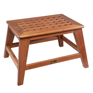Whitecap Step Stool - Teak