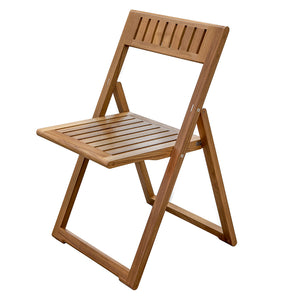 Whitecap Folding Slat Chair - Teak