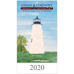 Coast and Country 2020 Wall Calendar