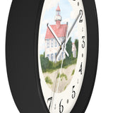 Fair Weather Off East Point Light Heirloom Designer Clock