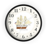 U.S.S. Pennsylvania Heirloom Designer Clock