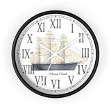 Clipper Flying Cloud Roman Numeral Clock