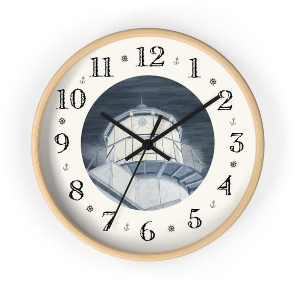 Night Watch Over The Bay Heirloom Designer Clock