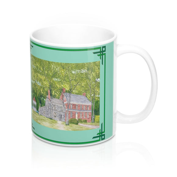 Manor House In Spring Mug