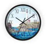 Rocks Off Pigeon Point Roman Numeral Clock