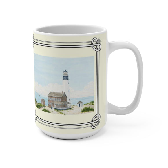 Spirit of Cape Henlopen 15 oz. Mug by Lee M. Buchanan