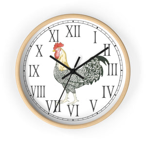 Charlie Rooster Roman Numeral Clock