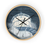 Night Watch Over The Bay English Numeral Clock