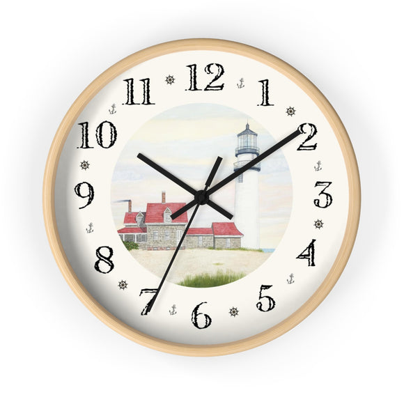 Stiff Breeze At Day's End Heirloom Designer Clock