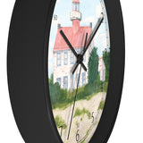 Fair Weather Off East Point Light English Numeral Clock