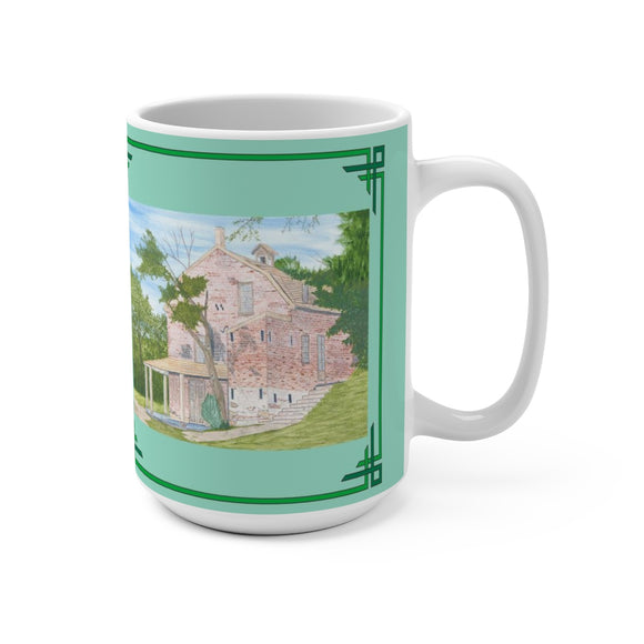 Village General Store 15 oz Mug by Lee M. Buchanan