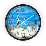Good Ole Times At Cape Hatteras Roman Numeral Clock