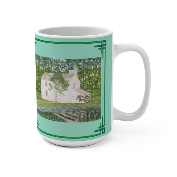 Country Garden 15 oz Mug by Lee M. Buchanan