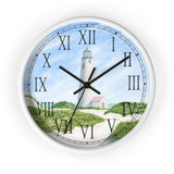Dunes At Great Point Light Roman Numeral Clock