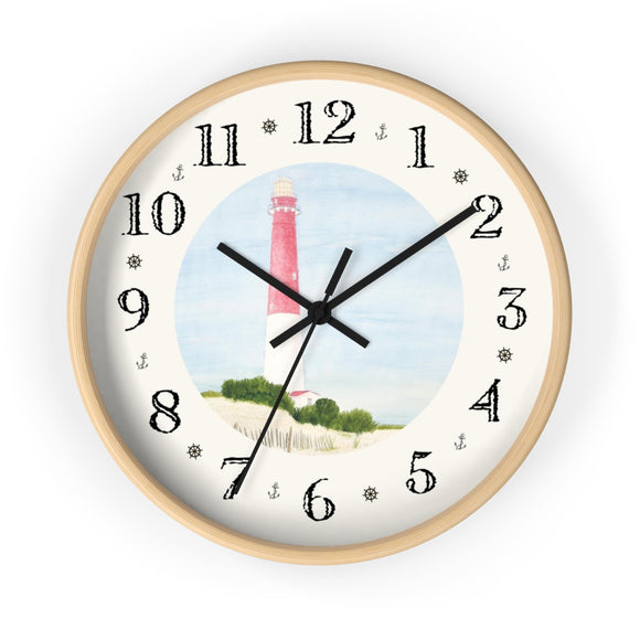 Barnegat Lighthouse Heirloom Designer Clock
