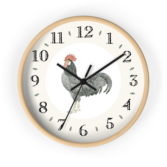 Adam Rooster Heirloom Designer Clock